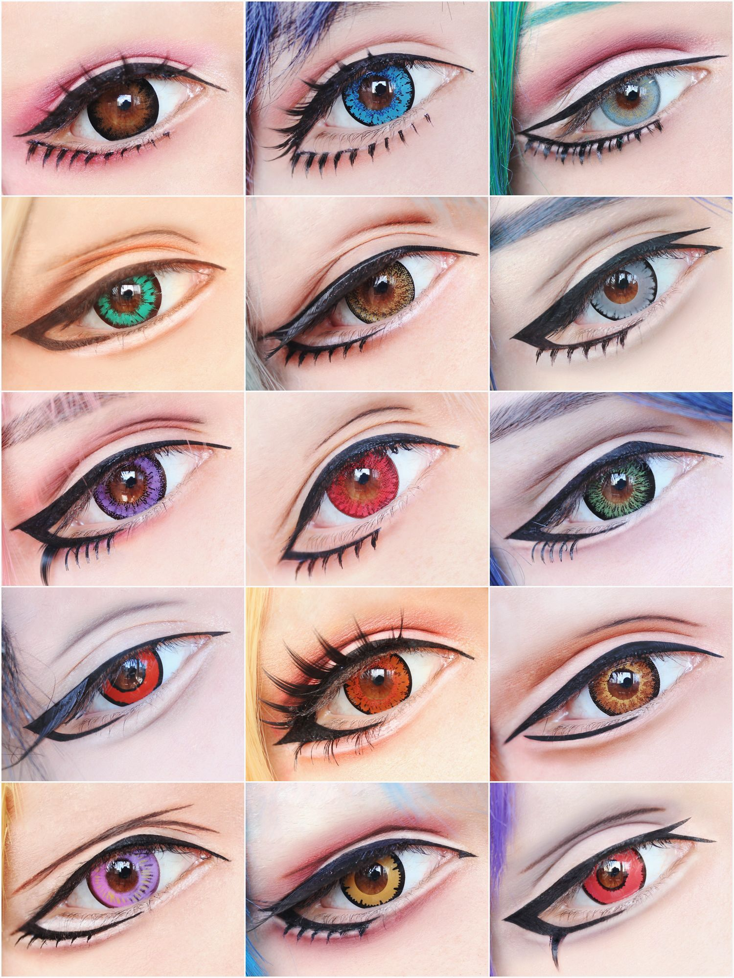 Cosplay makeup tutorials
