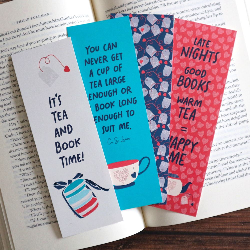 Printable Bookmark Set Pdf Bookmarks Download Bookish Gifts Etsy Book Lovers Gifts Bookmarks For Books Cute Bookmarks