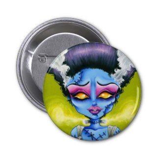 Little Bride of Frankenstein Pinback Button