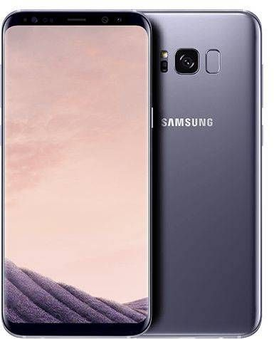 Samsung Galaxy S8 Plus - 64GB, 4G LTE, Orchid grey | Mobile Phone