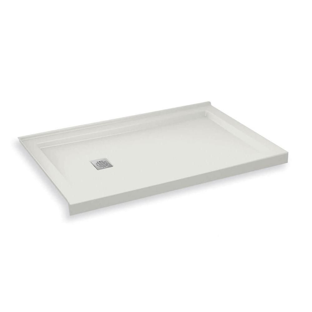 Maax B3square 36 In X 60 In Single Threshold Shower Base In