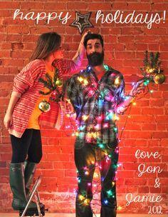 Funny Couple Christmas Card Photo Ideas 03 Christmas