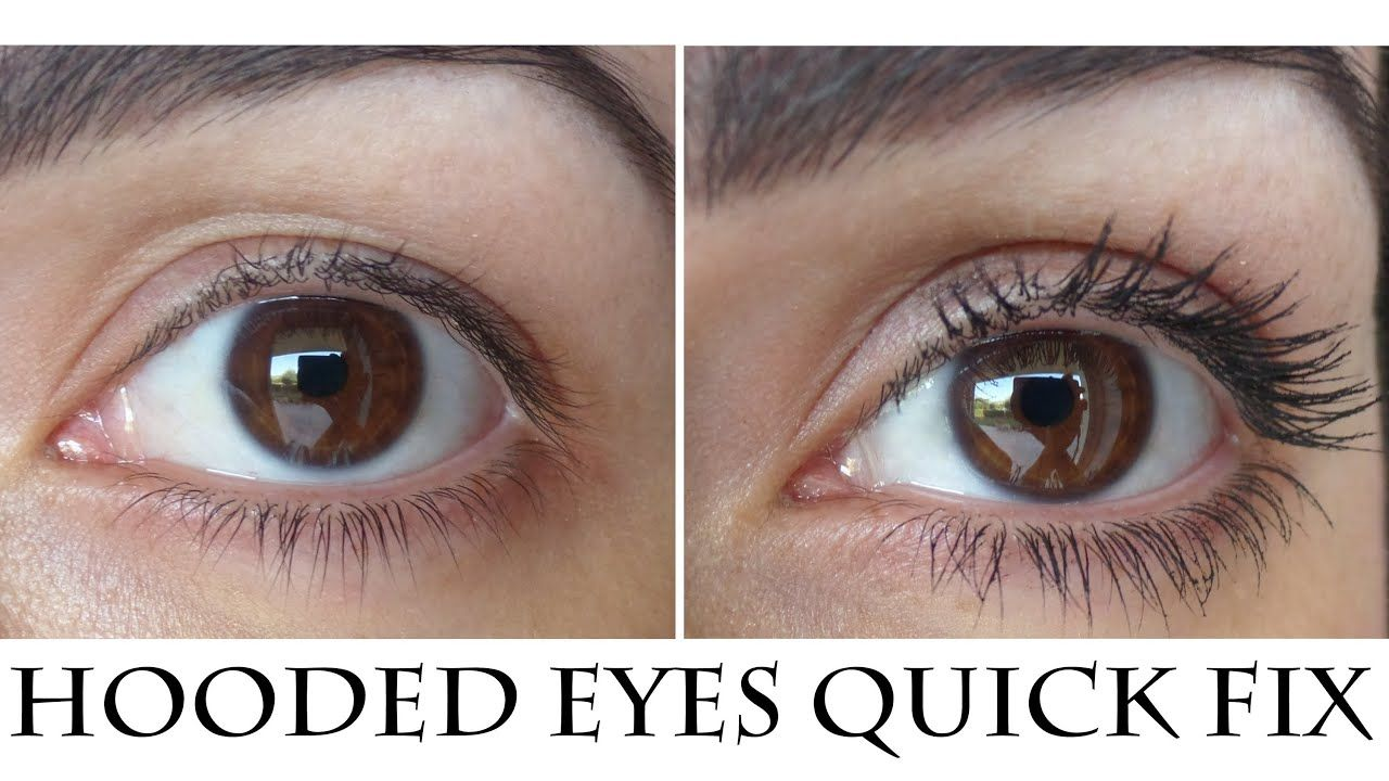 How to easily and quickly Correct Hooded Droopy eyes