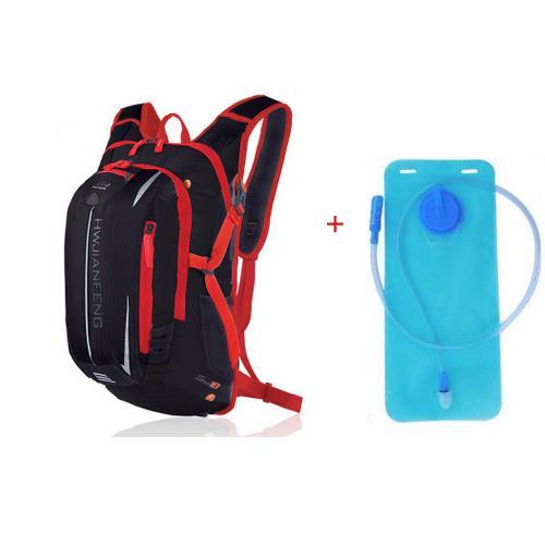 18L Bicycle Bag Bike Backpack Reflective Waterproof Bladder Bag Travelling