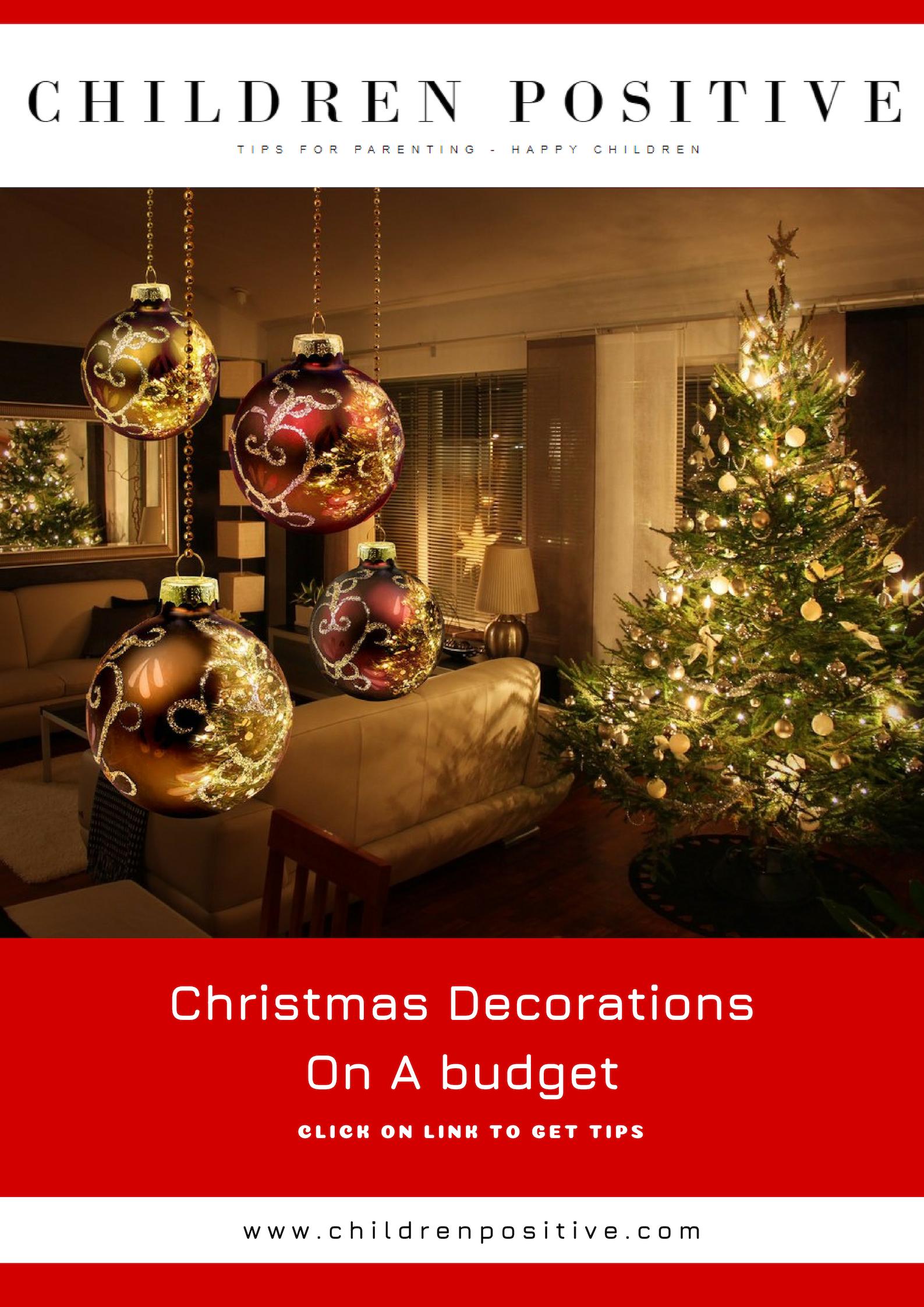 Christmas Decorations on a Bud Christmas Ideas