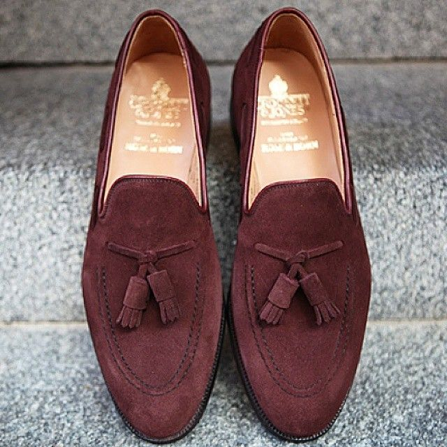 ROSE & BORN - C&J exclusively made for #roseandborn Cavendish in Aubergine suede