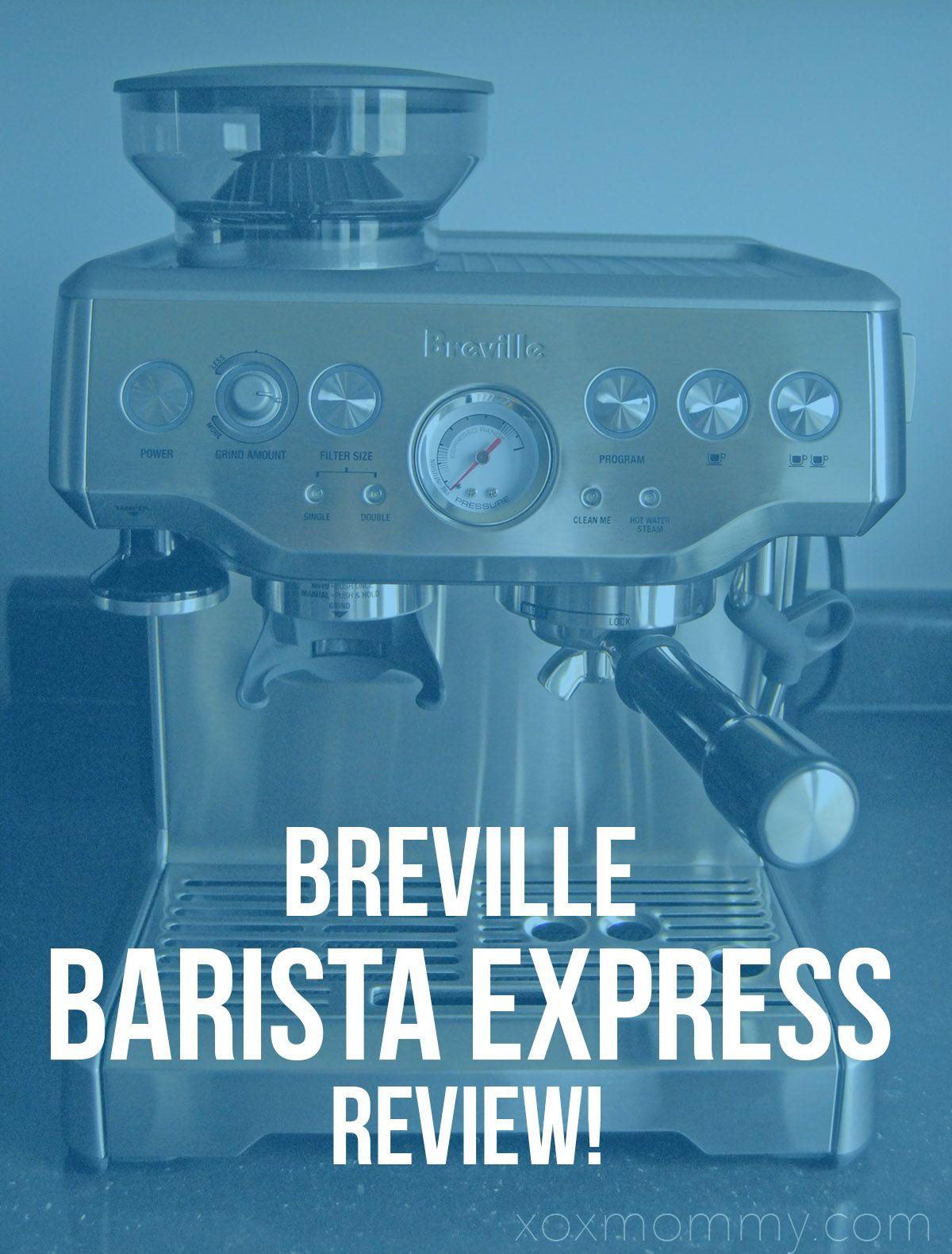 Breville Barista Express Review coffee, cappuccino