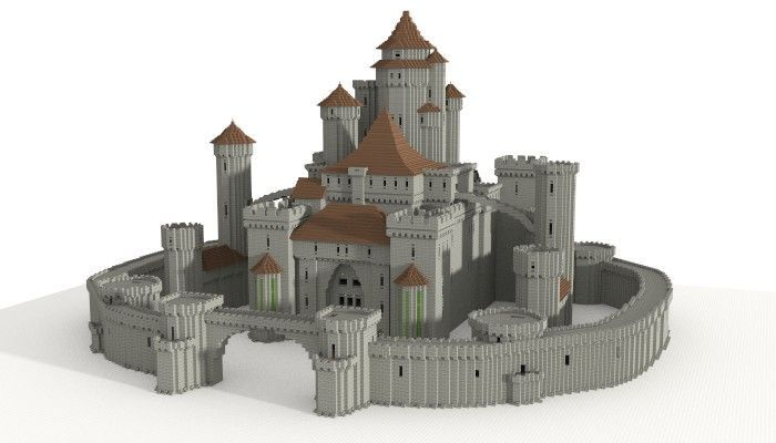 Image Result For Minecraft Castle Easy