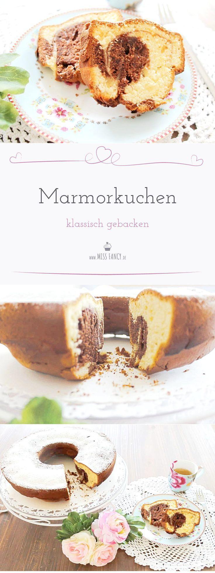 Klassischer Marmorkuchen Cakes Pinterest Marmorkuchen