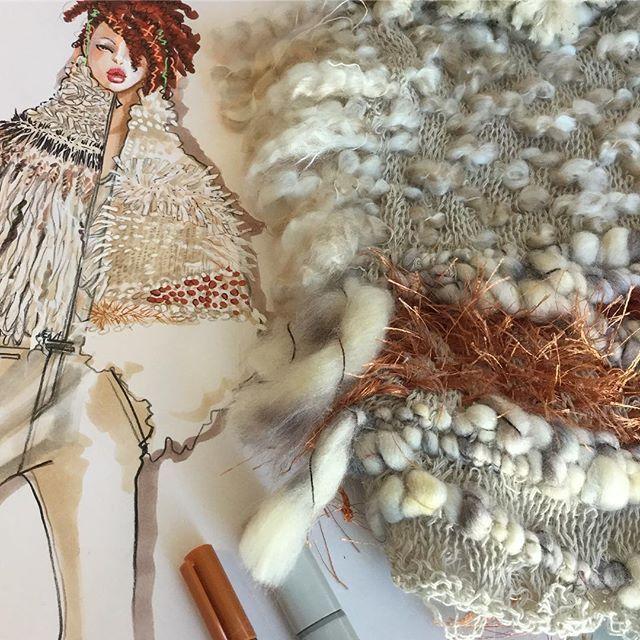 Sweater Rendering #illustration #fashion #rendering #inspiration #fashionstudy