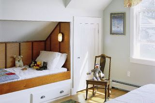 The Sagebrush Cottage Boys Room Built In Beds With Closet
