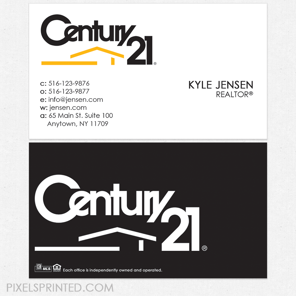 Century 21 business cards century 21 cards realtor business century 21 business cards century 21 cards realtor business cards realty business cards magicingreecefo Images