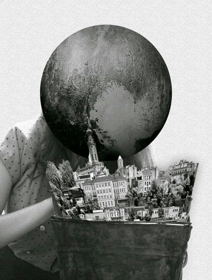 Black and white collage black and white collage black