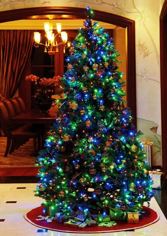 Good 2013 Prelit Christmas Trees, 2013 Personalized Prelit Christmas Tree, 2013 Christmas  Tree Blue And