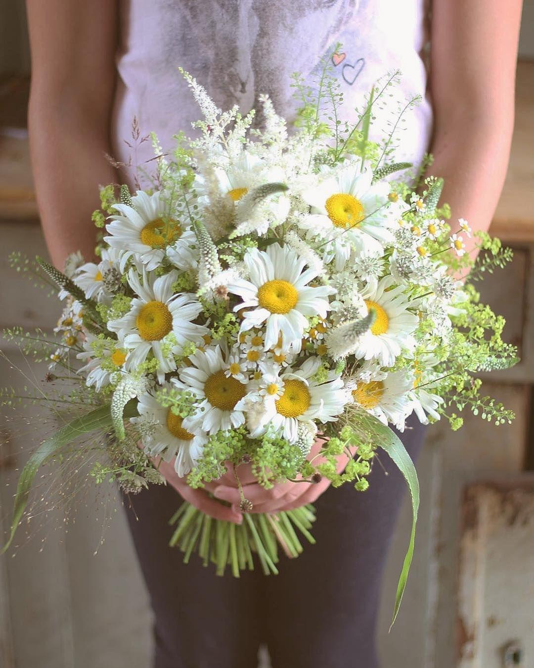 df96f9dfc0 Svadobná kytica z lúčnych kvetov alchemilky margarétky veroniky a iných  trávičiek  kvetysilvia  kvetinarstvo