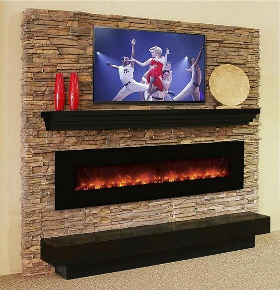 Make A Splash With Our Manhattan Modern Mantel Shelf And Any