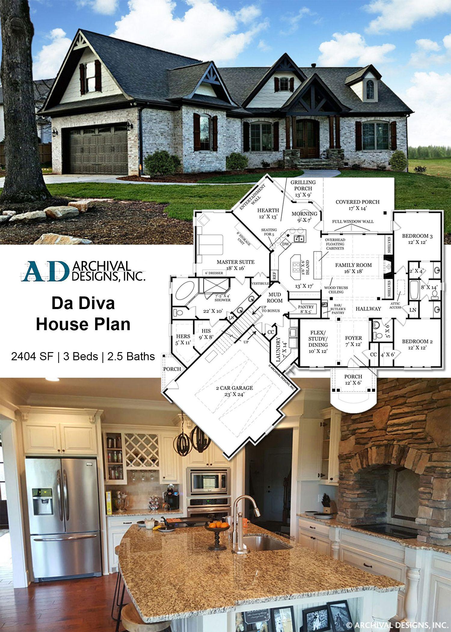 Pin Archival Design House Plans & Cottage
