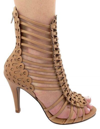 a70185feef sandalia gladiadora marrom