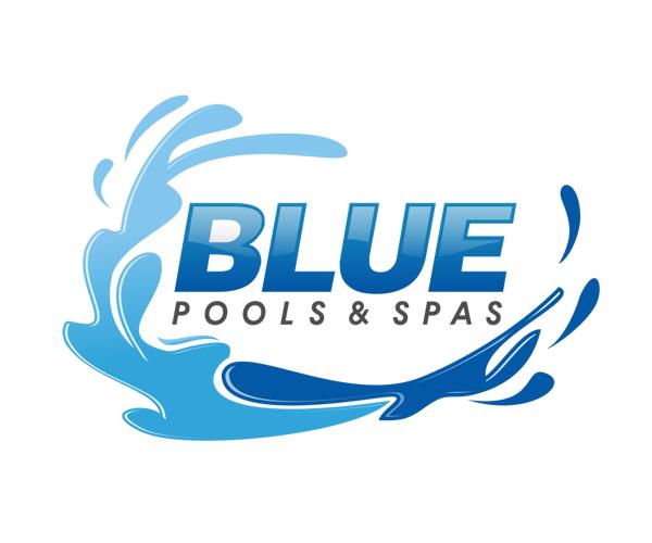 Blue Pools And Spas Logo Design Free Spa Logo Design Logo Design Spa Logo