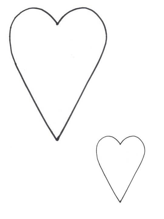 Heart Pattern   STENCILS ARTS AND CRAFTS   Pinterest   Basteln