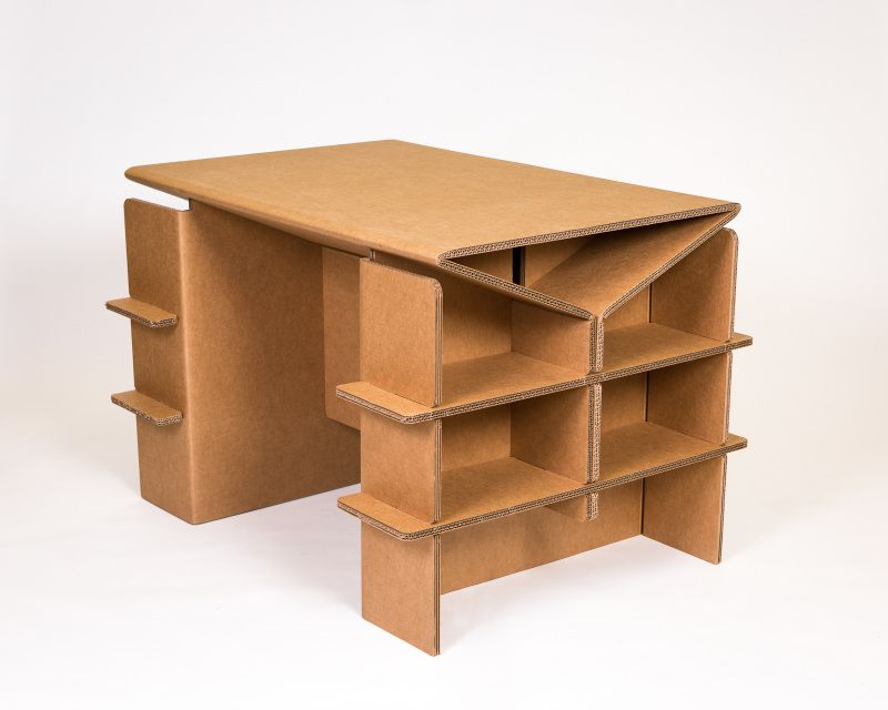 Cardboard Furniture For The Urban Nomad In The Office At The Trade Show Or At Home We Innovate Your S Cardboard Furniture Cardboard Crafts Cardboard Design
