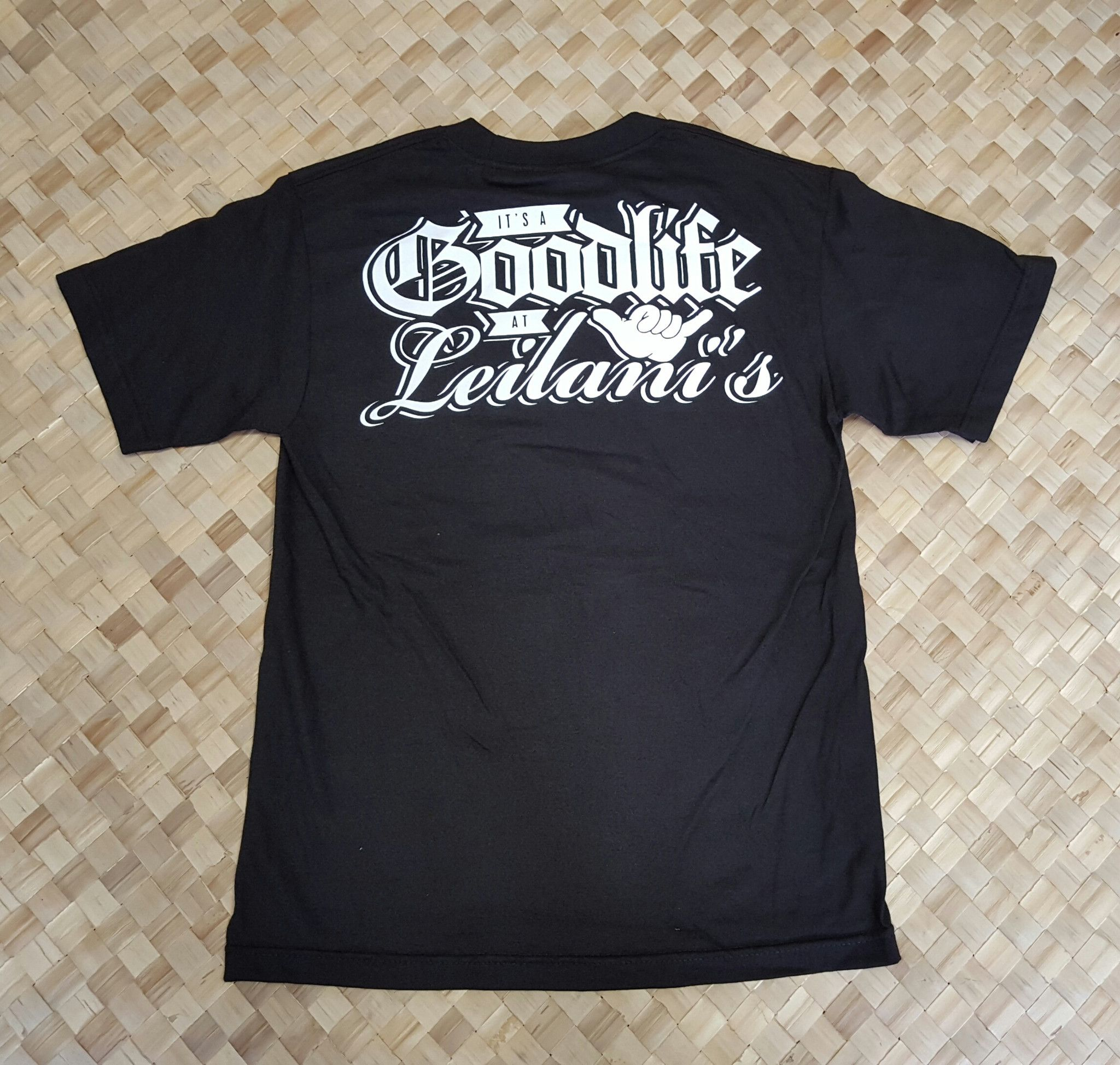 3c55107173799 Good Life at Leilanis Collaboration Mens T-Shirt