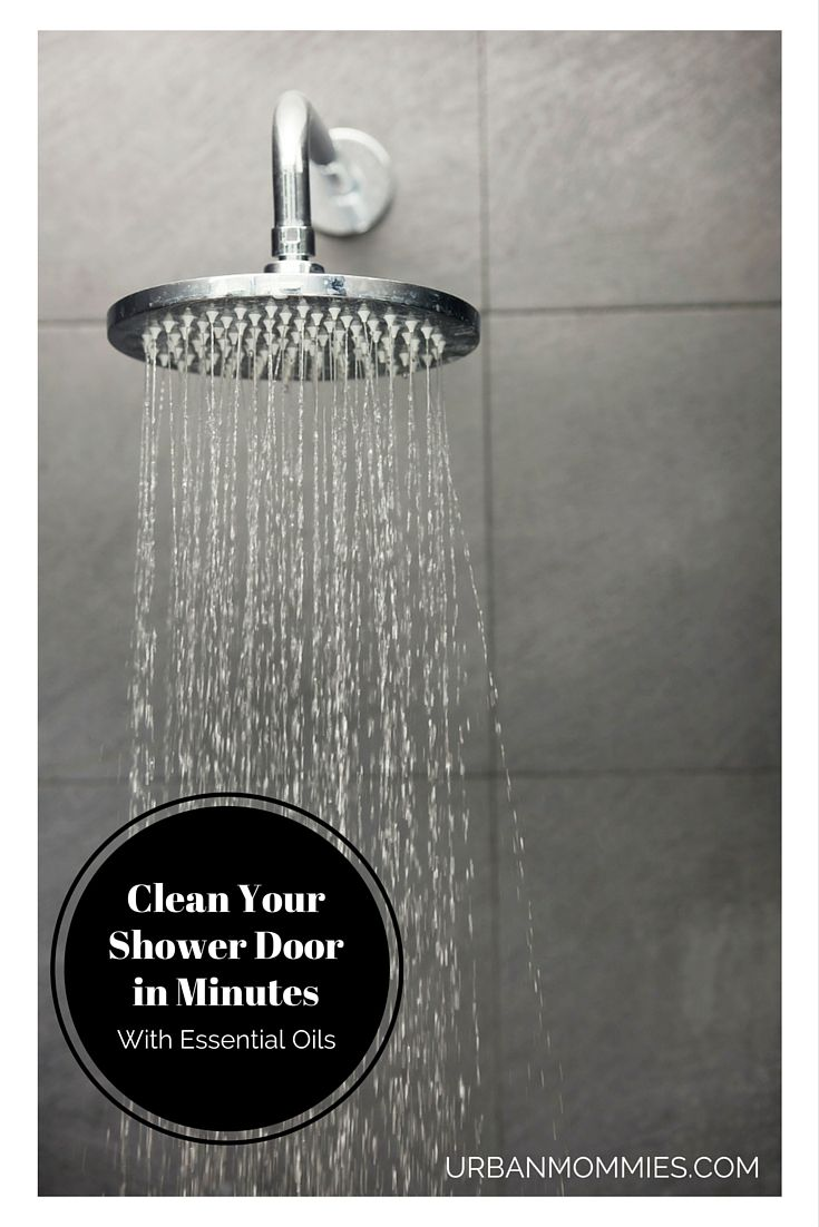 Clean your shower doors in minutes with essential oils shower clean your shower door in minutes and remove all that soap scum with essential oils planetlyrics Choice Image