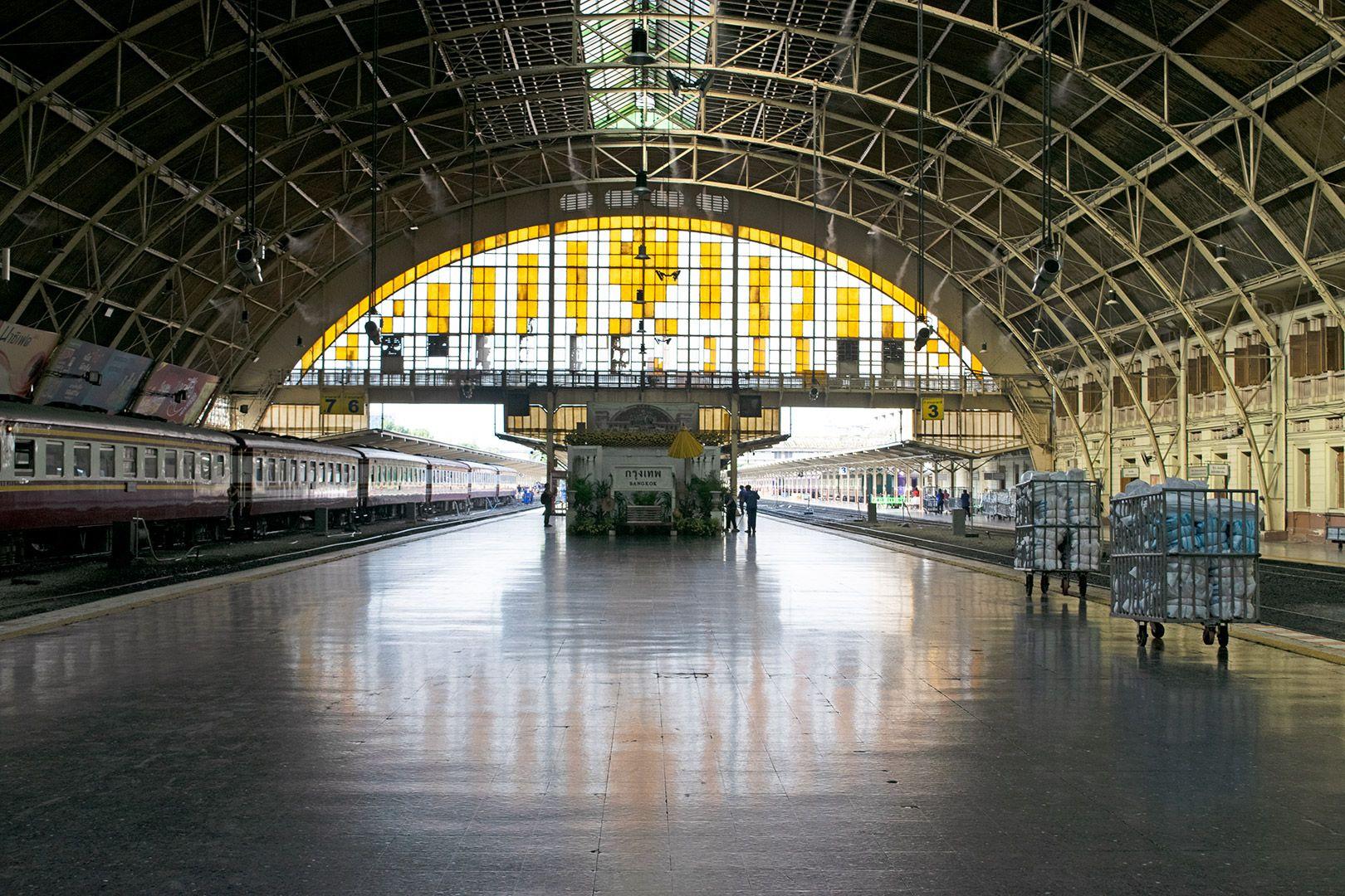 Hua Lamphong Bangkok Railway Hub