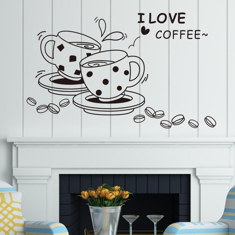 I love coffee wall decals diy wall stickers wall decals for the