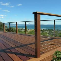 Cablerail Stainless Steel Cable Assembly For Wood Posts At Menards With Images Railings Outdoor Deck Railings Outdoor Living Deck