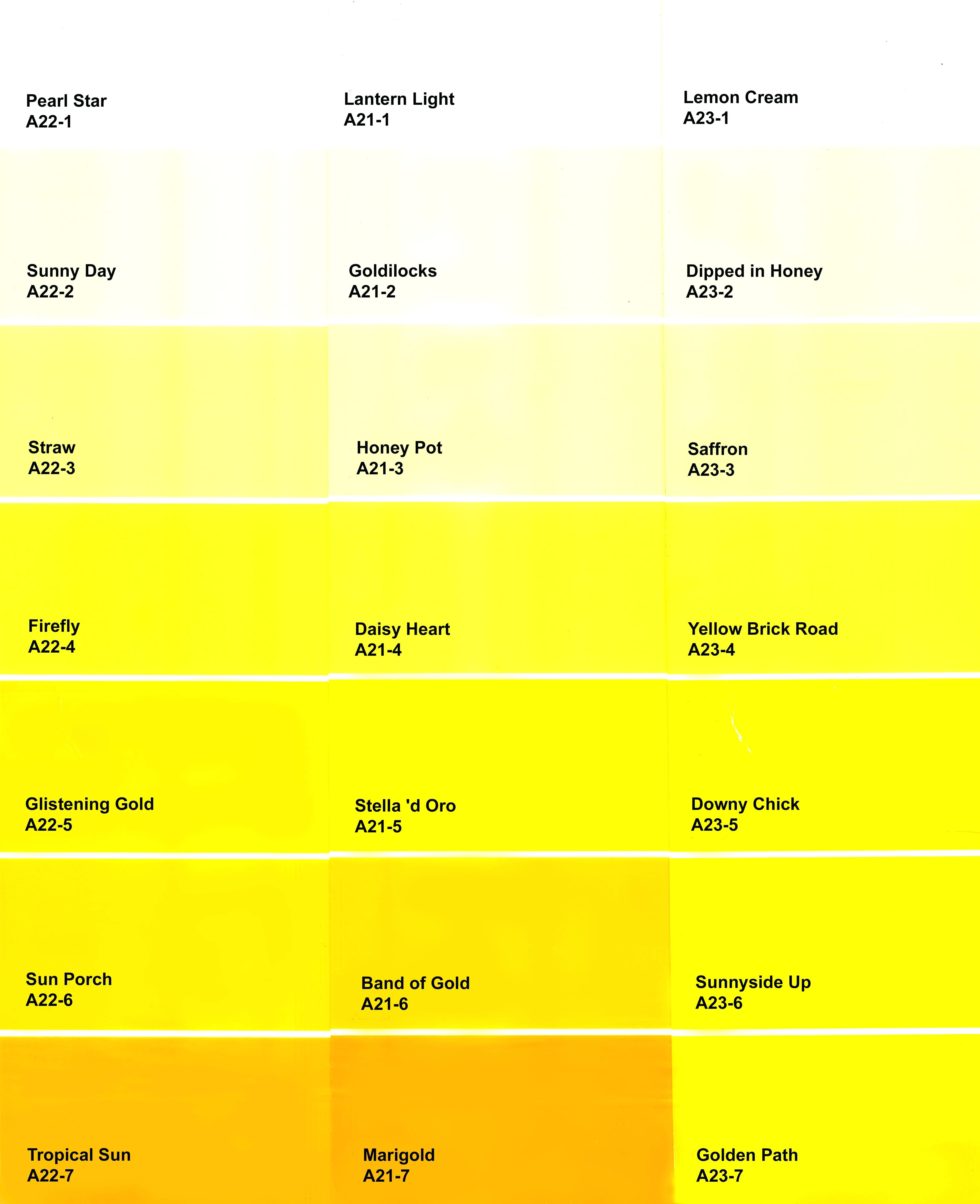 Houseslemon Drop Yellow Paint Color Lemon Oil