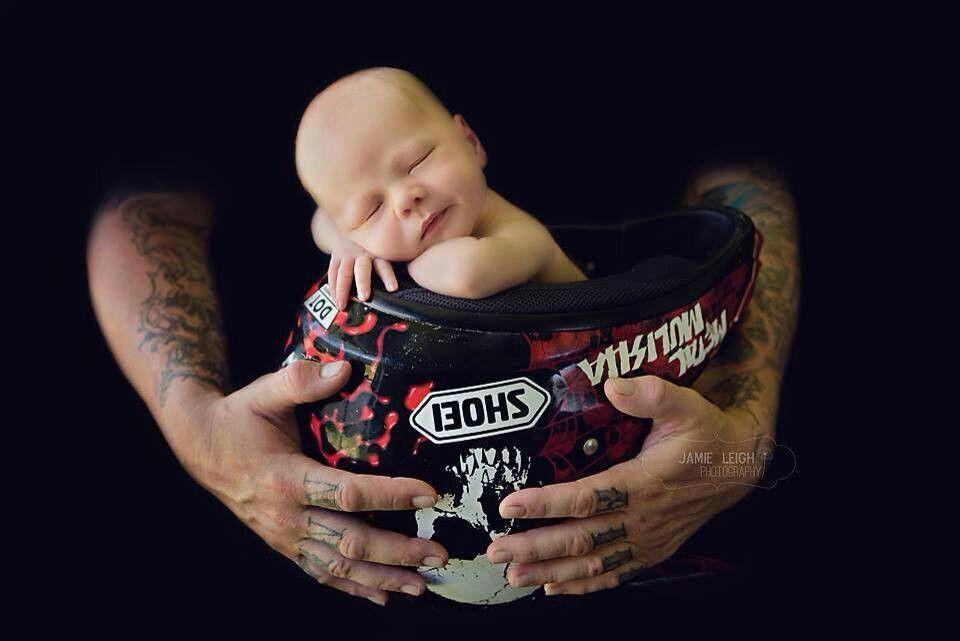 Dirtbike Helmet Baby Photo Baby Boy Newborn Pictures Newborn