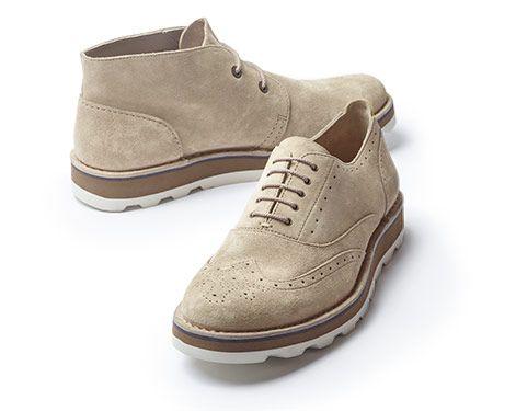Footwear · Darble Limit, Sand suede Clarks mens ...