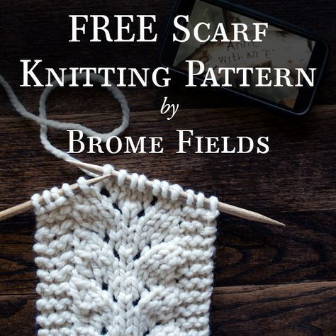 Heres A Free Scarf Knitting Pattern I Fell In Love With The Baby