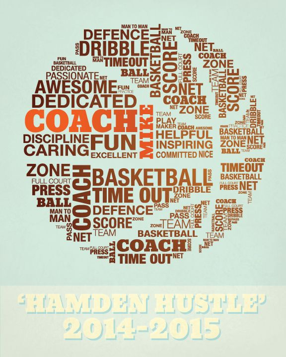 Basketball Graphic Wordcloud Custom Boys Athlete Coach Custom Word Cloud For An Athlete Or A Coach I Word Cloud Maker Balls Quote Ncaa Tournament Party
