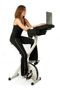 Amazon Com Fitdesk Semi Recumbent Pedal Desk Sports Outdoors Biking Workout Exercise Bikes No Equipment Workout