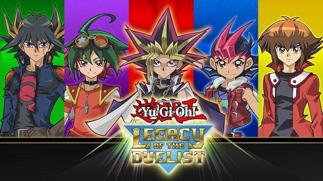 LIMA VAGA: Yu-Gi-Oh! Legacy of the Duelist ya disponible para...