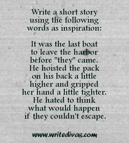 Pin by Write Divas on Writing Prompts & Exercises