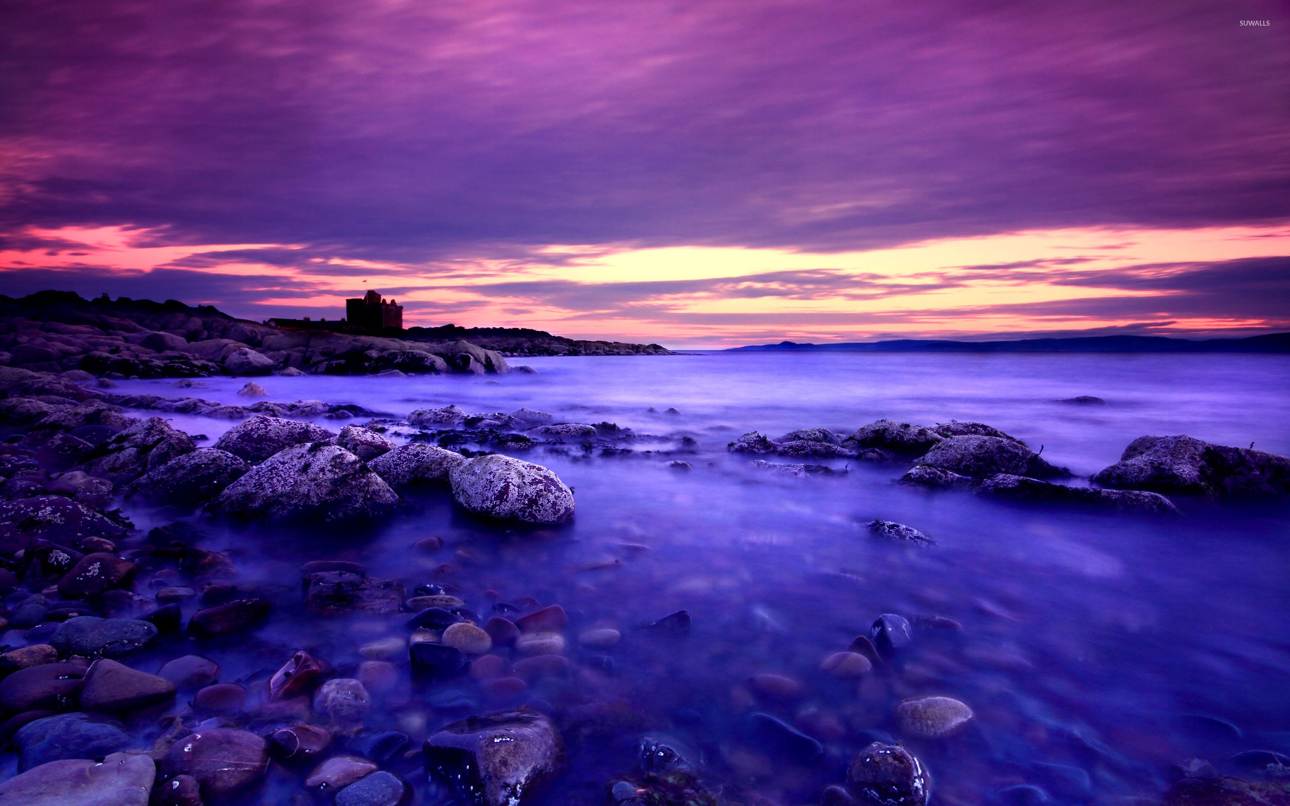 Download free purple sunset wallpapers for your mobile