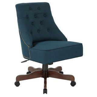 osp home furnishings rebecca tufted back fabric home office chair rh pinterest com