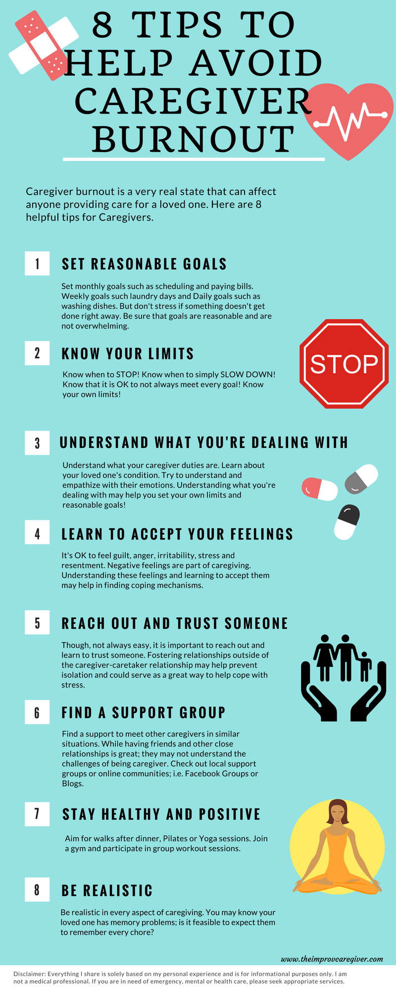 8 Tips To Avoid Caregiver Burnout