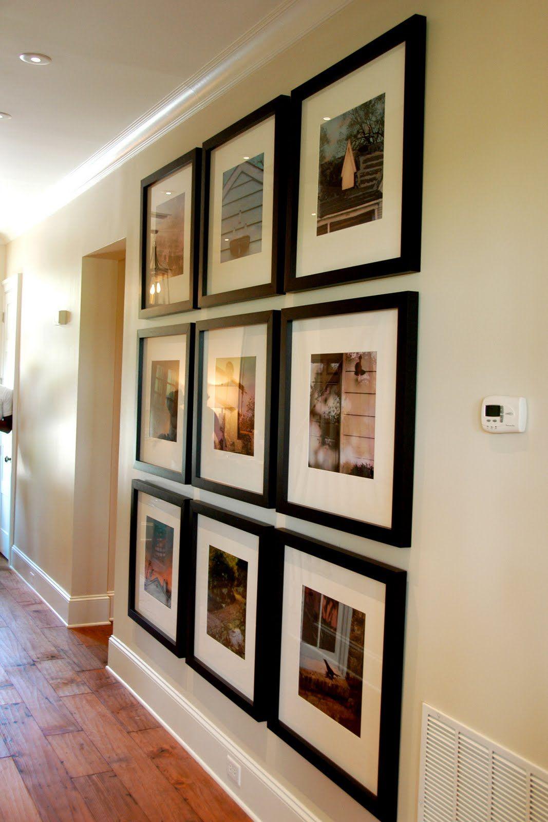 Frame Photograph Arrangement Ideas The Polkadot Chair Home