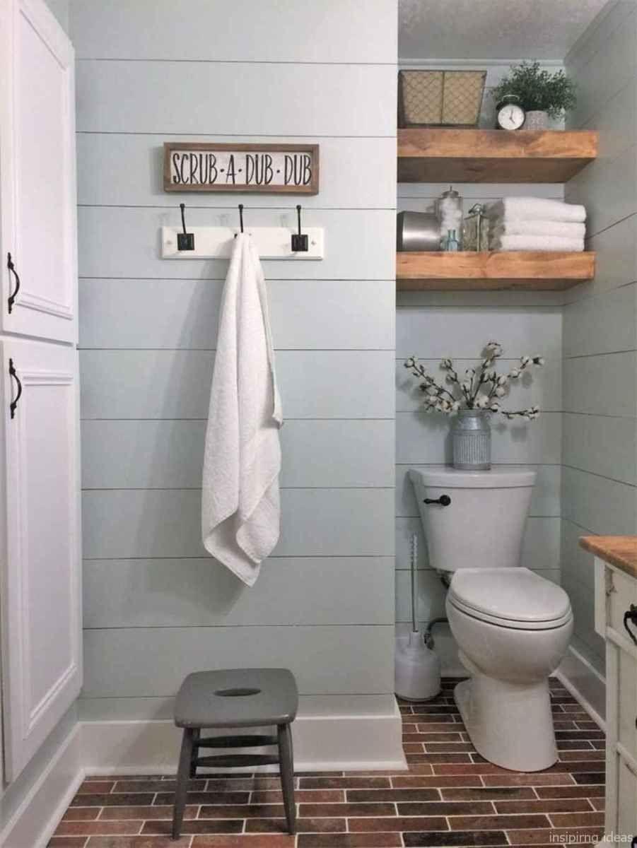 50 Modern Farmhouse Small Bathroom Wall Color Ideas 19 Bathroom Farmhouse Style Small Farmhouse Bathroom Modern Farmhouse Bathroom