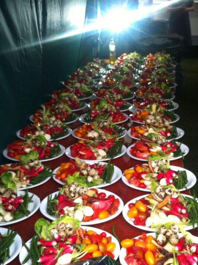 That's a lot of aioli platters
