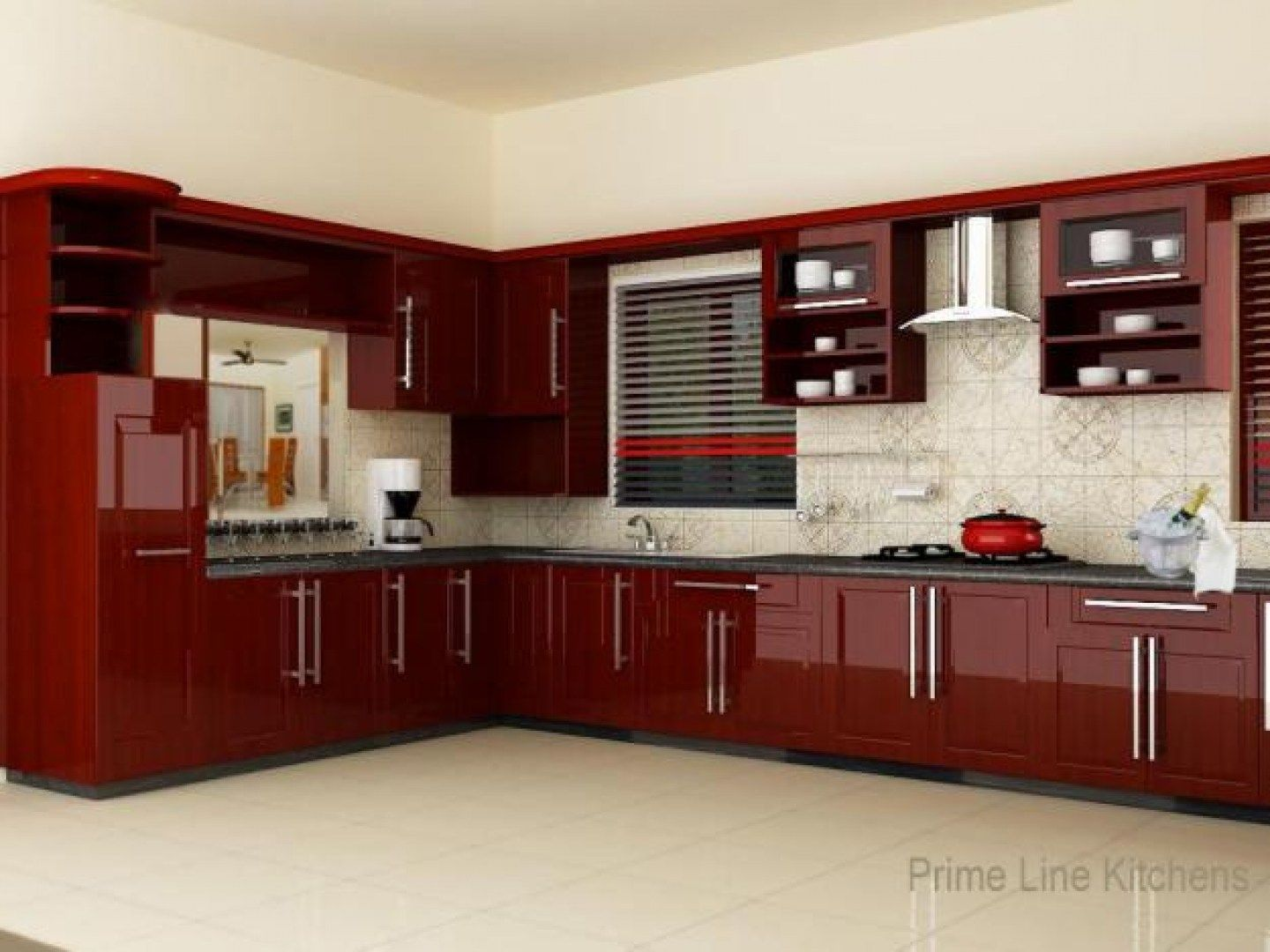 Kitchen design ideas kitchen woodwork designs hyderabad for Kitchen set aluminium modern