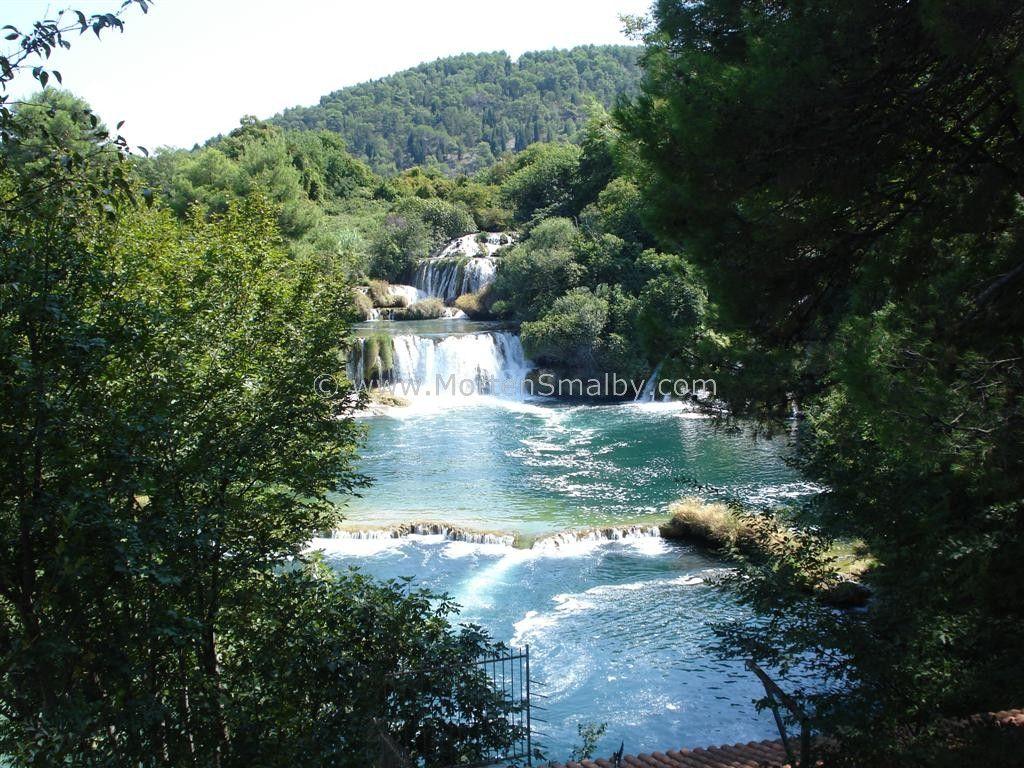 Waterfalls On Island Mljet