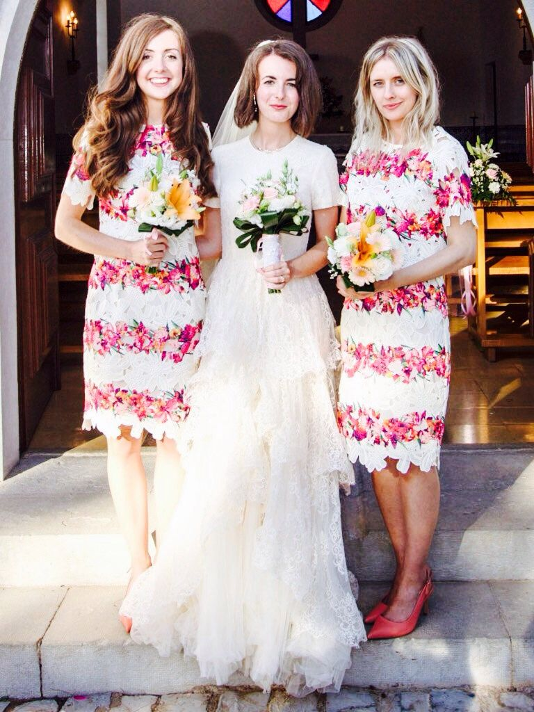 Me And My Best S A Traditional Portuguese Wedding With Beautiful Dresses Courtesy Of The High Street Bridesmaids From Asos Salon Own