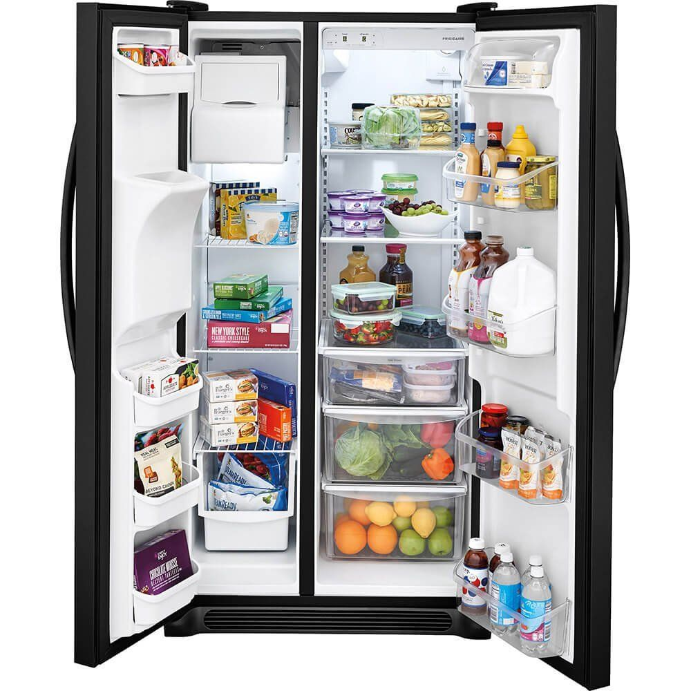 Amazon frigidaire ffsste inch side by side refrigerator