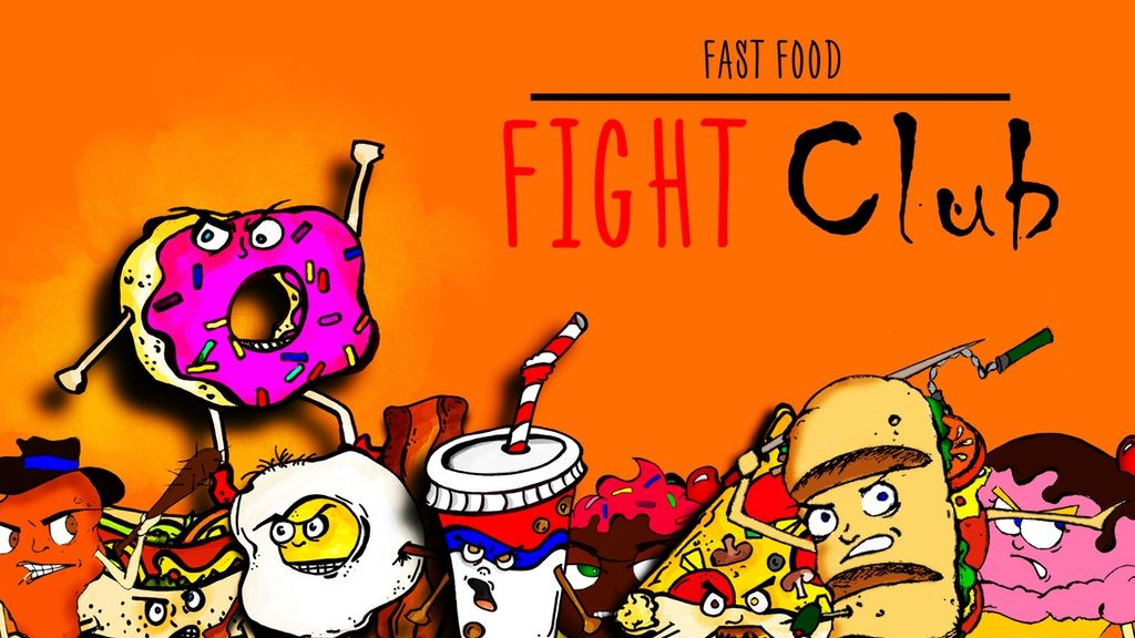 Image Result For Food Fight Cartoon Image Food Fight Club Card