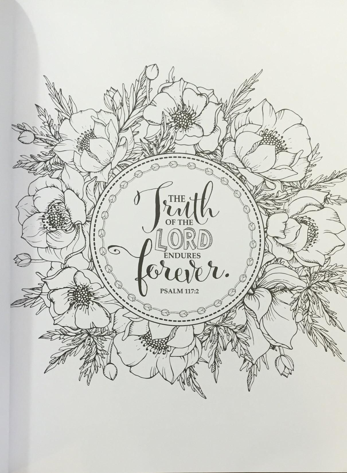 Publishers for adult coloring books - Amazon Com 34 The Psalms In Color 34 Inspirational Adult Coloring Book 9781432115968 Christian Art Publishers Books